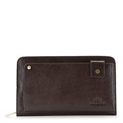 Wrist bag, dark brown, 21-3-377-4, Photo 1