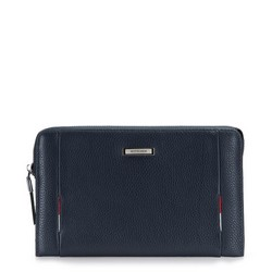 WRIST BAG, navy blue, 86-3U-217-7, Photo 1