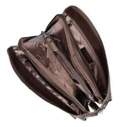 Wrist bag, dark brown, 10-3-375-4, Photo 1