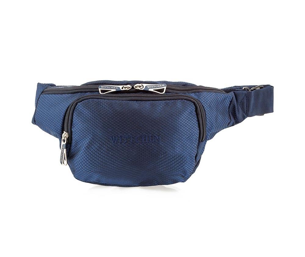 Купить Барсетка мужская Wittchen 56-3S-103-90, голубой, Германия