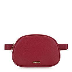 Damska torebka nerka pudełkowa, czerwony, 91-4Y-306-3, Zdjęcie 1
