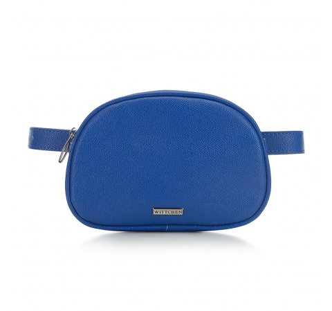 Damska torebka nerka pudełkowa, niebieski, 91-4Y-306-1, Zdjęcie 1