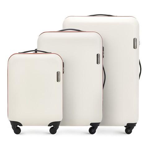 Zestaw walizek, jasny beż, 56-3-61S-85, Zdjęcie 1