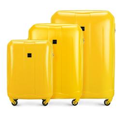 Комплект чемоданов  Wittchen 56-3A-26S-50, желтый 56-3A-26S-50