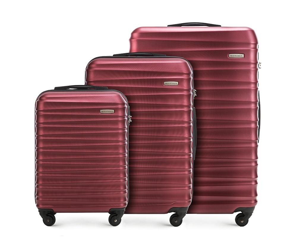 Купить Комплект чемоданов Wittchen, Германия, красный