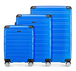 Zestaw walizek, niebieski, 56-3A-44S-90, Zdjęcie 1