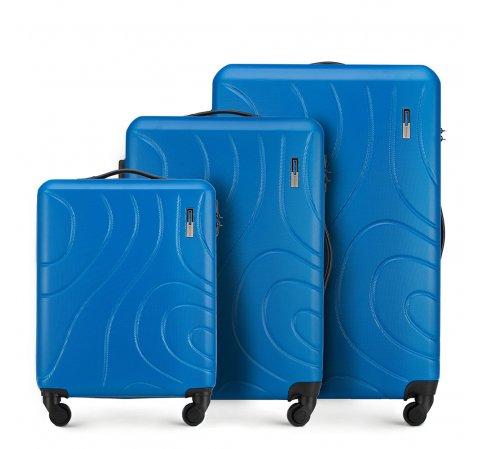 Zestaw walizek, niebieski, 56-3A-57S-90, Zdjęcie 1