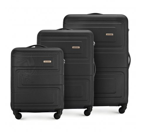 Luggage set, black, 56-3A-63S-90, Photo 1