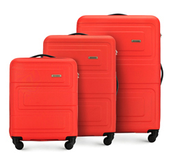 Luggage set, red, 56-3A-63S-30, Photo 1