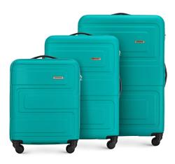 Zestaw walizek, turkusowy, 56-3A-63S-85, Zdjęcie 1