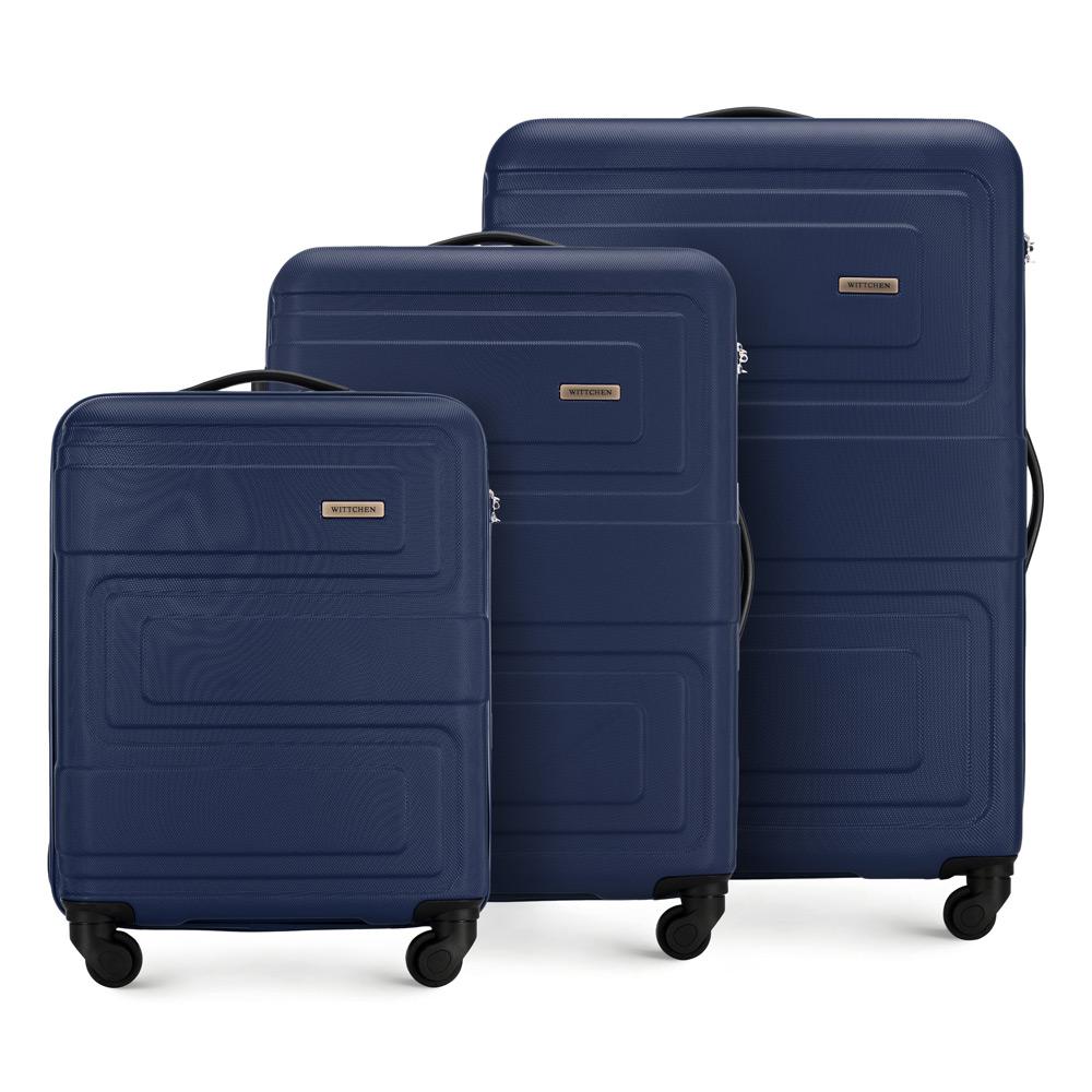 Sada troch cestovných kufrov z kolekcie Tour.