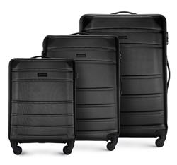 Zestaw walizek, czarny, 56-3A-65S-10, Zdjęcie 1