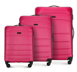 Luggage set, pink, 56-3A-65S-34, Photo 1