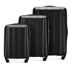 Zestaw walizek, czarny, 56-3P-11S-10, Zdjęcie 1