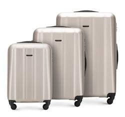 Zestaw walizek, szampański, 56-3P-11S-86, Zdjęcie 1