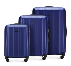 Luggage set, navy blue, 56-3P-11S-90, Photo 1