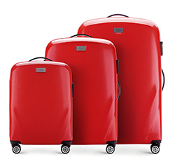 Luggage set, red, 56-3P-57S-30, Photo 1