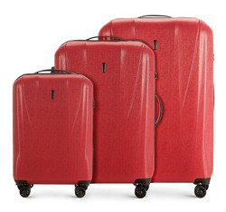 Luggage set, red, 56-3P-96S-30, Photo 1