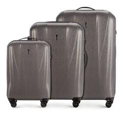 Комплект чемоданов Wittchen 56-3P-96S-70, графит 56-3P-96S-70