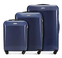 Zestaw walizek, granatowy, 56-3P-97S-90, Zdjęcie 1