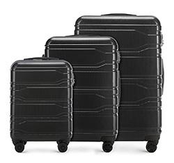 Zestaw walizek, czarny, 56-3P-98S-10, Zdjęcie 1