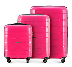 Luggage set, pink, 56-3T-72S-77, Photo 1