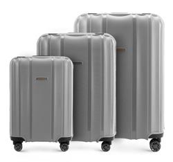 Zestaw walizek, szary, 56-3T-73S-70, Zdjęcie 1