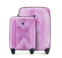 Luggage set, violet, 56-3T-74S-66, Photo 1