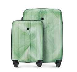 Luggage set, green, 56-3T-74S-88, Photo 1