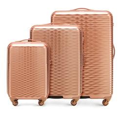 Комплект чемоданов Wittchen 56-3H-52S-35, золотой 56-3H-52S-35