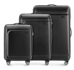 Комплект чемоданов Wittchen 56-3H-51S-10, черный 56-3H-51S-10