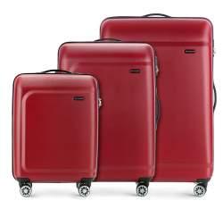 Zestaw walizek, bordowy, 56-3H-51S-30, Zdjęcie 1