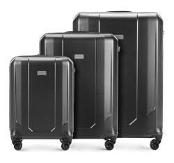 Zestaw walizek, szary, 56-3P-94S-70, Zdjęcie 1