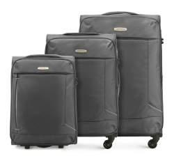 Комплект чемоданов Wittchen 56-3S-47S-00, серый 56-3S-47S-00