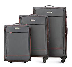 Zestaw walizek, szary, 56-3S-46S-00, Zdjęcie 1