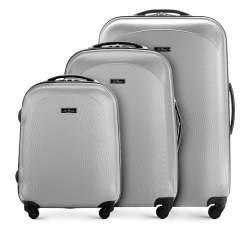 Zestaw walizek, jasny szary, V25-3A-72S-00, Zdjęcie 1