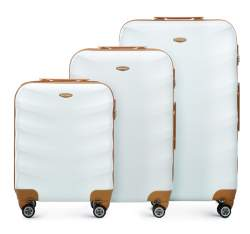 Комплект чемоданов Wittchen 56-3A-23S-88, белый 56-3A-23S-88