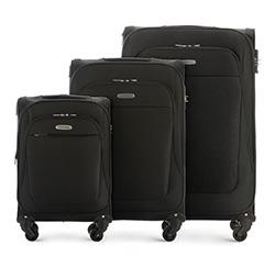 Zestaw walizek, czarny, 56-3S-48S-10, Zdjęcie 1