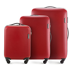 Luggage set, red, 56-3-61S-30, Photo 1