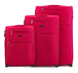 Zestaw walizek, czerwony, V25-3S-25S-30, Zdjęcie 1