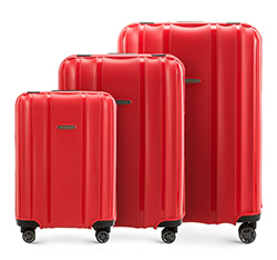 Luggage set, red, 56-3T-73S-30, Photo 1