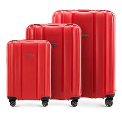 Комплект чемоданов Wittchen 56-3T-73S-30, красный 56-3T-73S-30