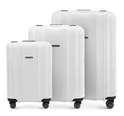 Zestaw walizek, biały, 56-3T-73S-88, Zdjęcie 1