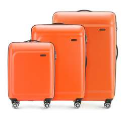 Zestaw walizek, pomarańczowy, 56-3H-51S-55, Zdjęcie 1