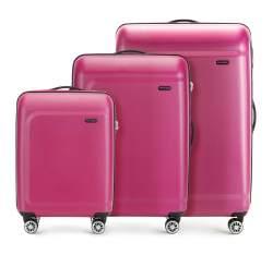 Комплект чемоданов Wittchen 56-3H-51S-60, розовый 56-3H-51S-60