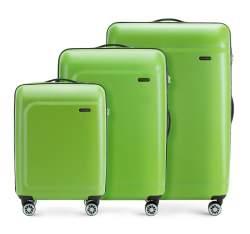 Комплект чемоданов Wittchen 56-3H-51S-80, зеленый 56-3H-51S-80