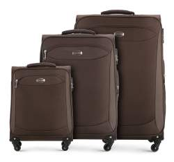 Zestaw walizek, brązowy, V25-10-44S-40, Zdjęcie 1