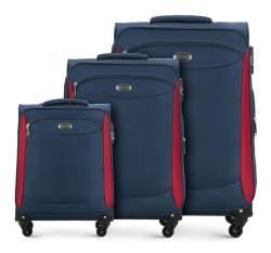 Zestaw walizek, chabrowy, V25-10-44S-90, Zdjęcie 1