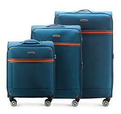 Комплект чемоданов Wittchen 56-3S-49S-95, голубой 56-3S-49S-95