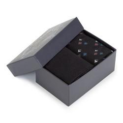 Zestaw męskich skarpetek basic, czarny, 92-SK-012-X1-43/45, Zdjęcie 1